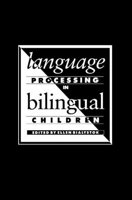 Abbildung von Bialystok   Language Processing in Bilingual Children   1991