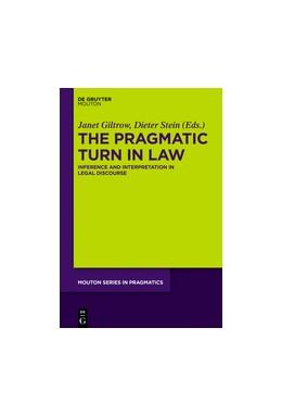 Abbildung von Giltrow / Stein   The Pragmatic Turn in Law   2017
