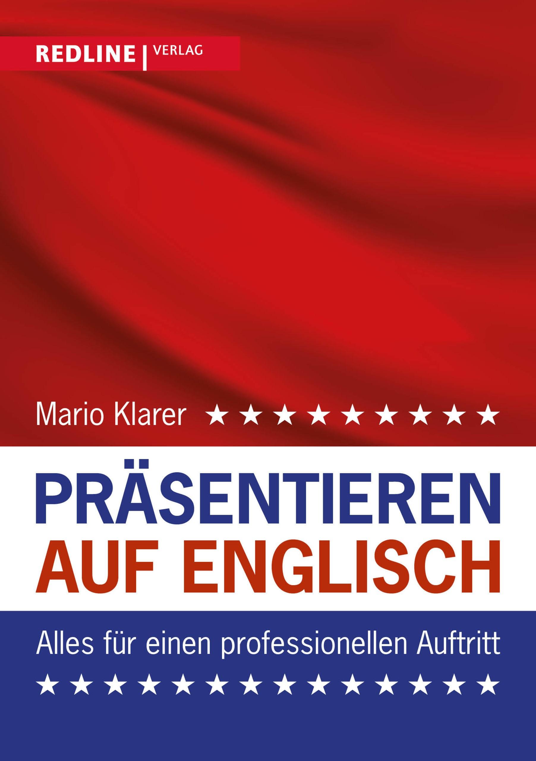 Präsentieren auf Englisch   Klarer, 2019   Buch (Cover)