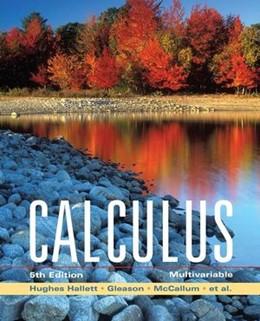 Abbildung von McCallum / Hughes-Hallett / Gleason   Calculus   5. Auflage   2008   Multivariable