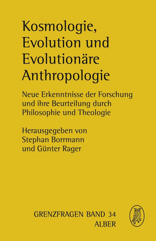 Kosmologie, Evolution und Evolutionäre Anthropologie | Borrmann / Rager, 2009 | Buch (Cover)