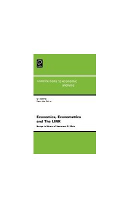 Abbildung von Economics, Econometrics and The LINK   1995   Essays in Honor of Lawrence R....