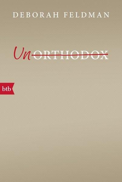 Unorthodox | Feldman, 2017 (Cover)