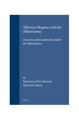 Abbildung von Hoenen / Libera   Albertus Magnus und der Albertismus   1995   Deutsche philosophische Kultur...   48