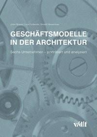 Geschäftsmodelle in der Architektur | Brassel / Fontanella / Hausenbaur, 2016 | Buch (Cover)