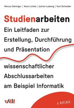 Abbildung von Deininger / Lichter   Studienarbeiten   6. Auflage   2017   beck-shop.de