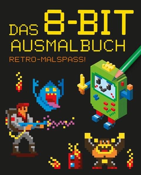 Das 8-bit-Ausmalbuch, 2017 | Buch (Cover)