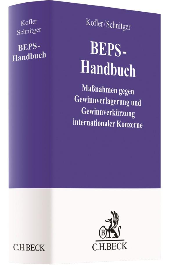 BEPS-Handbuch | Kofler / Schnitger, 2019 | Buch (Cover)