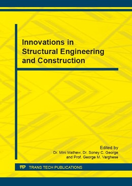 Abbildung von Mathew / George / Varghese | Innovations in Structural Engineering and Construction | 2017 | Volume 857