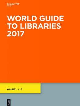 Abbildung von World Guide to Libraries 2017 | 32nd ed. | 2017 | eBookPlus