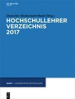 Abbildung von Deutscher Hochschulverband | Universitäten Deutschland | 2017