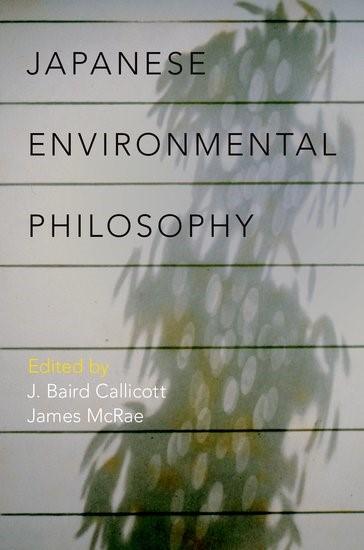 Abbildung von Callicott / McRae | Japanese Environmental Philosophy | 2017