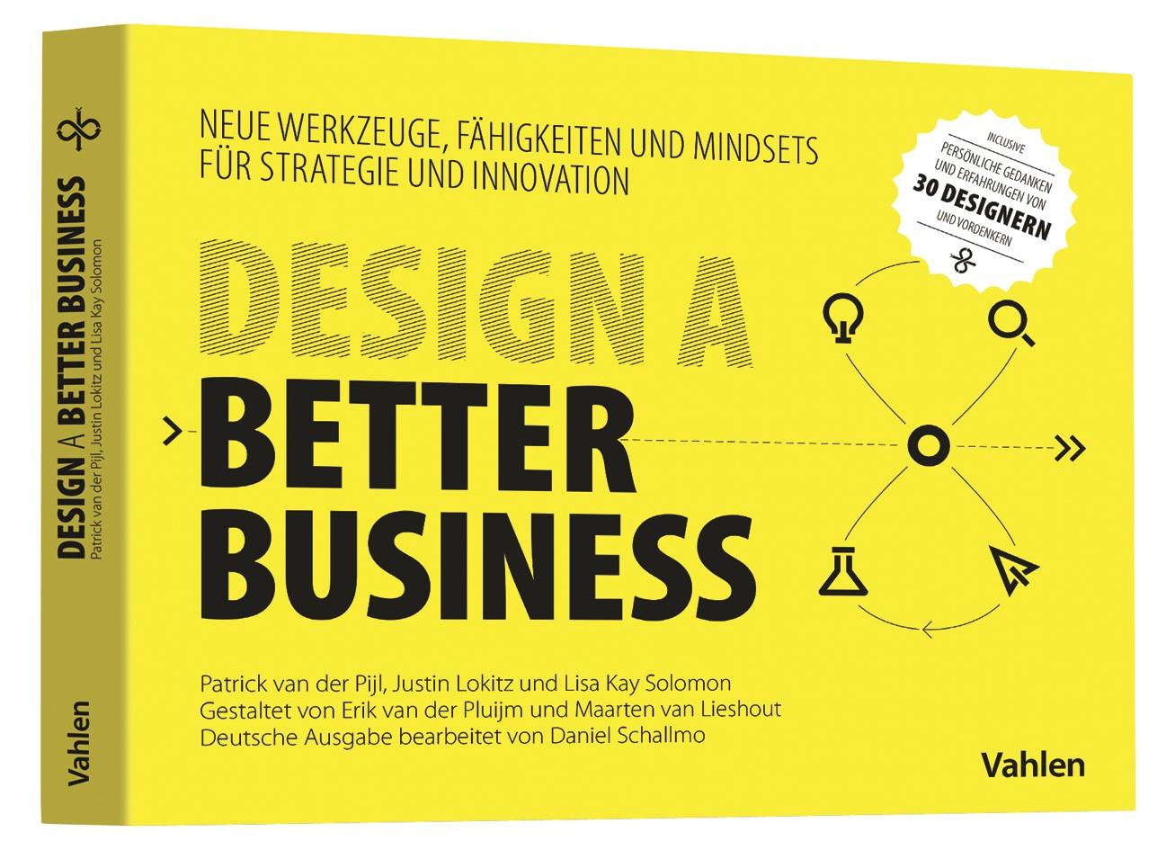 Abbildung von van der Pijl / Lokitz / Solomon | Design a better business | 2018
