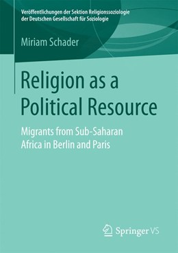 Abbildung von Schader | Religion as a Political Resource | 2017 | Migrants from Sub-Saharan Afri...