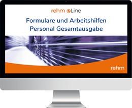 Abbildung von e-Formulare Personal ö.D. Gesamtausgabe • Online | 1. Auflage | | beck-shop.de