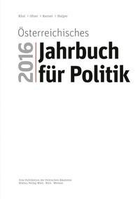 Österreichisches Jahrbuch für Poltik 2016 | Ofner / Khol / Karner / Halper, 2017 | Buch (Cover)