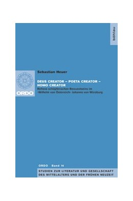 Abbildung von Heuer | Deus creator – Poeta creator – Homo creator | 1. Auflage | 2017 | beck-shop.de