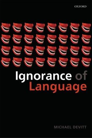 Abbildung von Devitt | Ignorance of Language | 2006
