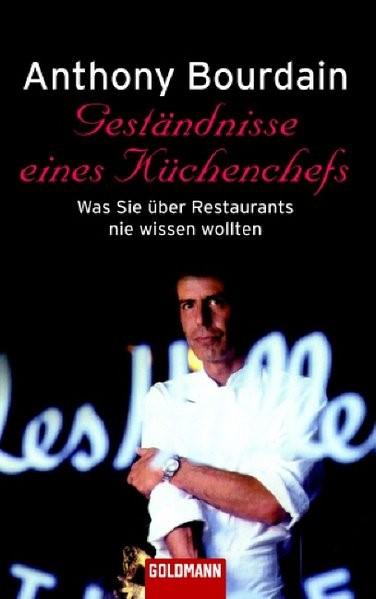 Geständnisse eines Küchenchefs   Bourdain, 2003   Buch (Cover)