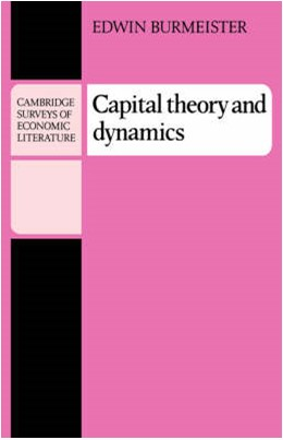 Abbildung von Burmeister | Capital Theory and Dynamics | 1980