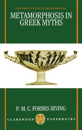 Abbildung von Forbes Irving | Metamorphosis in Greek Myths | 1992