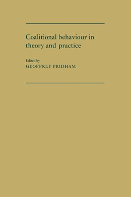 Abbildung von Pridham | Coalitional Behaviour in Theory and Practice | 2010 | An Inductive Model for Western...