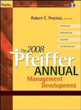 Abbildung von Preziosi | The 2008 Pfeiffer Annual | 1. Auflage | 2007 | Management Development with CD