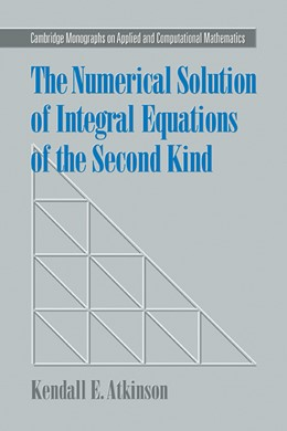 Abbildung von Atkinson | The Numerical Solution of Integral Equations of the Second Kind | 2009 | 4