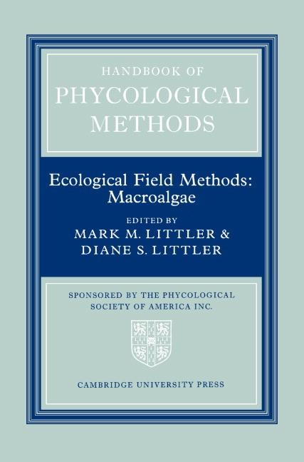 Abbildung von Littler   Handbook of Phycological Methods: Volume 4   1986