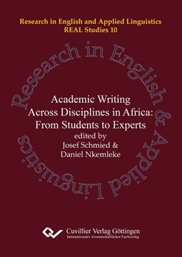 Abbildung von Schmied / Nkemleke | Academic Writing Across Disciplines in Africa: | 2016 | From Students to Experts