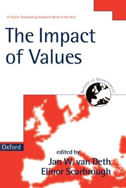Abbildung von Deth / Scarbrough | The Impact of Values | 1998 | 4