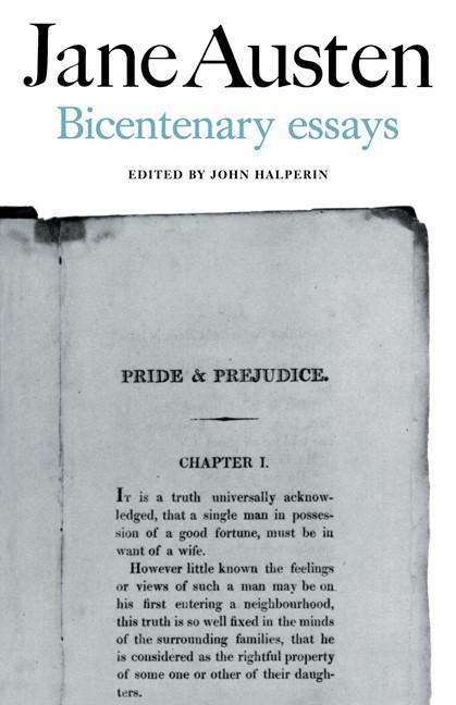 Abbildung von Halperin | Jane Austen Bicentenary Essays | 1975