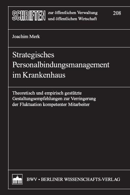 Abbildung von Merk | Strategisches Personalbindungsmanagement im Krankenhaus | 2008