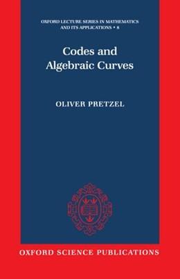 Abbildung von Pretzel | Codes and Algebraic Curves | 1998 | 8