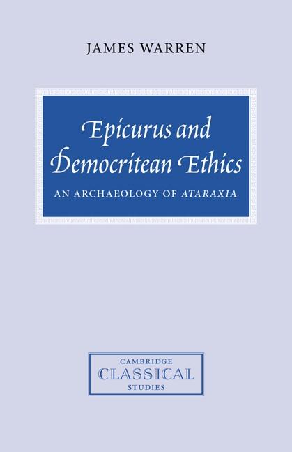 Abbildung von Warren | Epicurus and Democritean Ethics | 2006