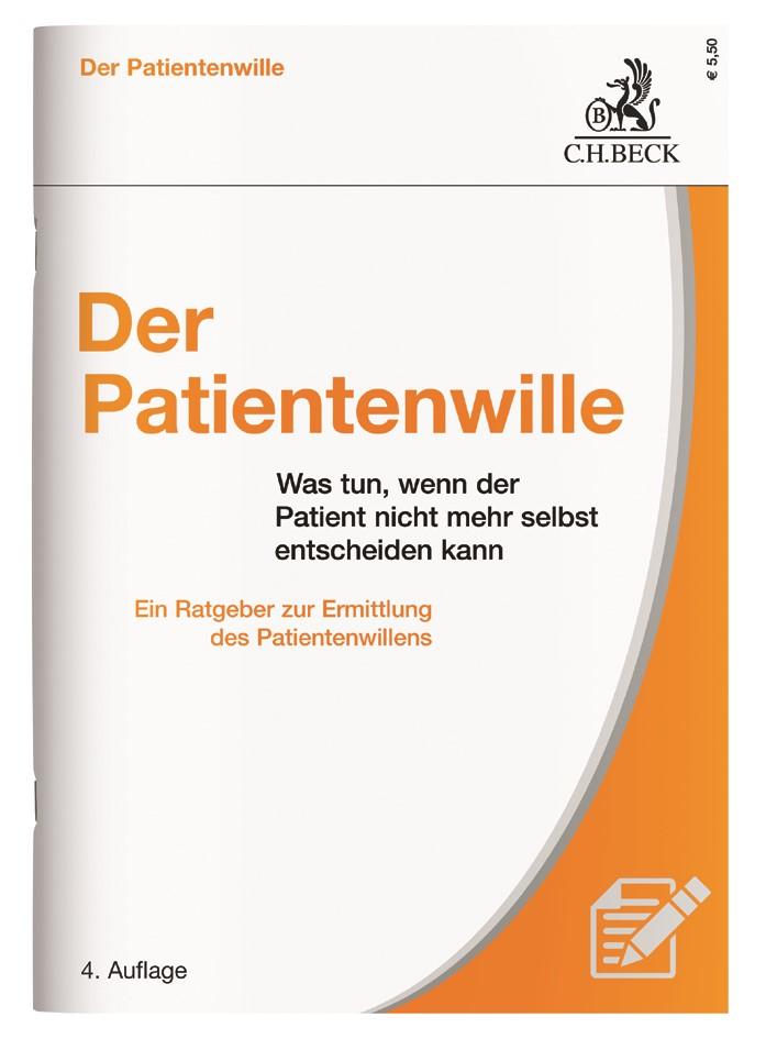 Der Patientenwille | Buch (Cover)