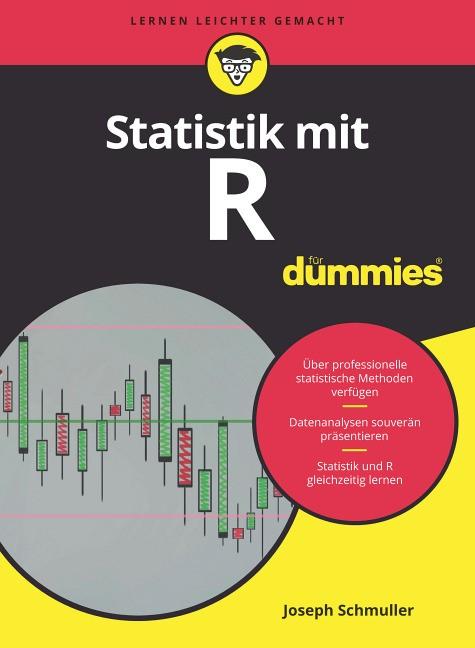Statistik mit R für Dummies | Schmuller, 2017 | Buch (Cover)