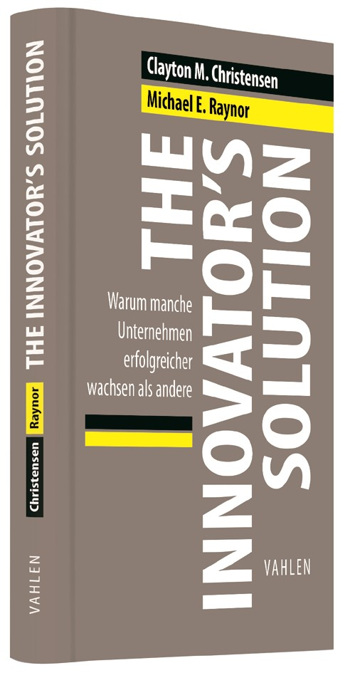 The Innovator's Solution | Christensen / Raynor, 2018 | Buch (Cover)