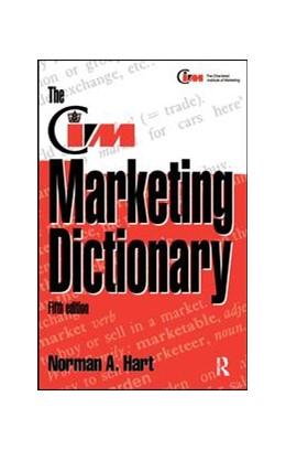 Abbildung von Hart / Stapleton | The CIM Marketing Dictionary | 5. Auflage | 2017 | beck-shop.de