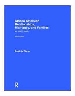 Abbildung von Dixon   African American Relationships, Marriages, and Families   2. Auflage   2017   beck-shop.de
