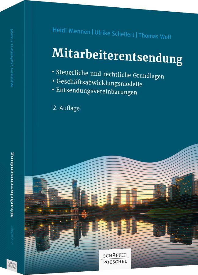 Mitarbeiterentsendung | Mennen / Schellert / Wolf | 2. Auflage, 2018 | Buch (Cover)