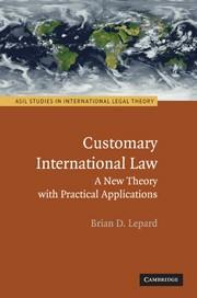 Abbildung von Lepard | Customary International Law | 2010
