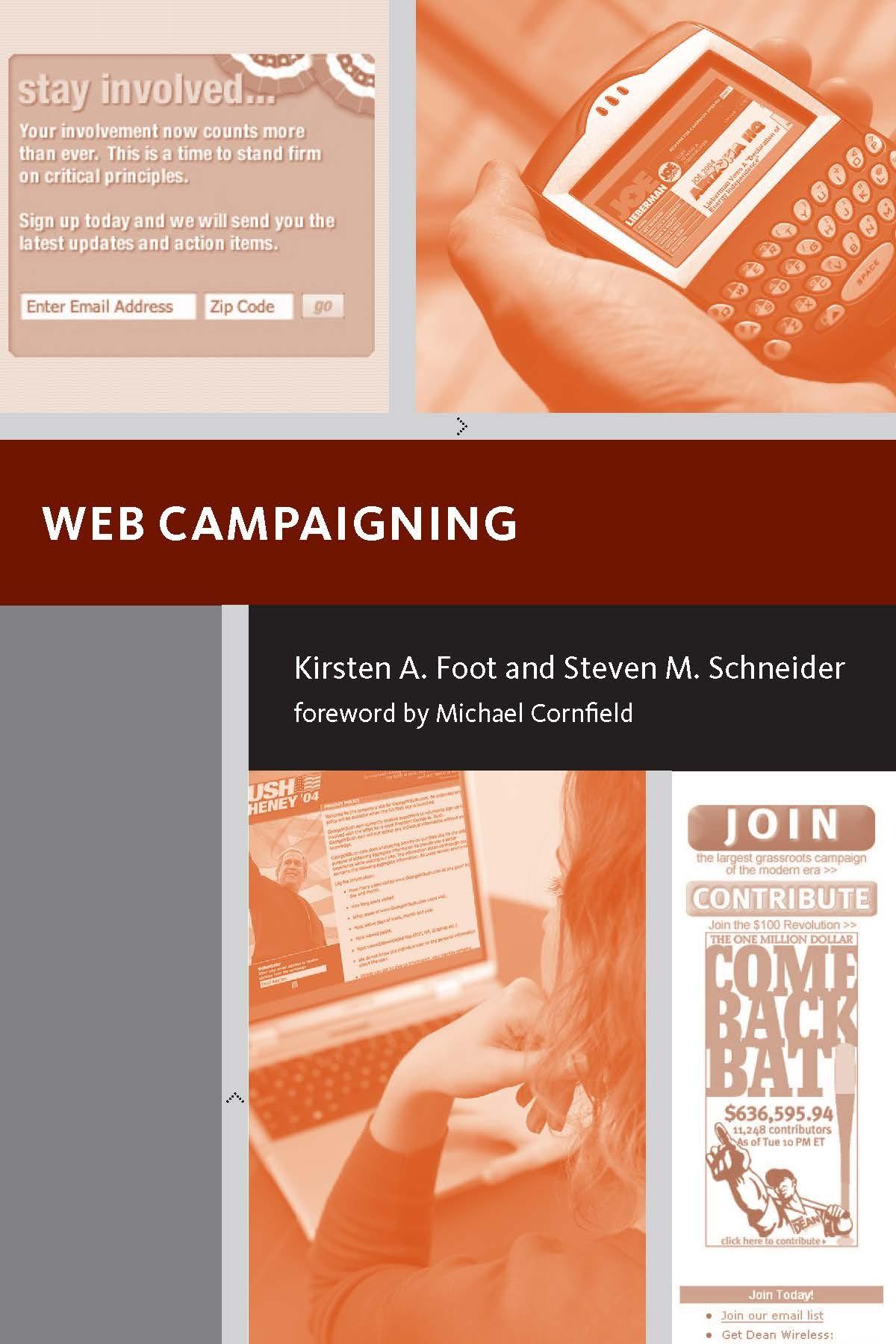 Abbildung von Foot / Schneider | Web Campaigning | 2006