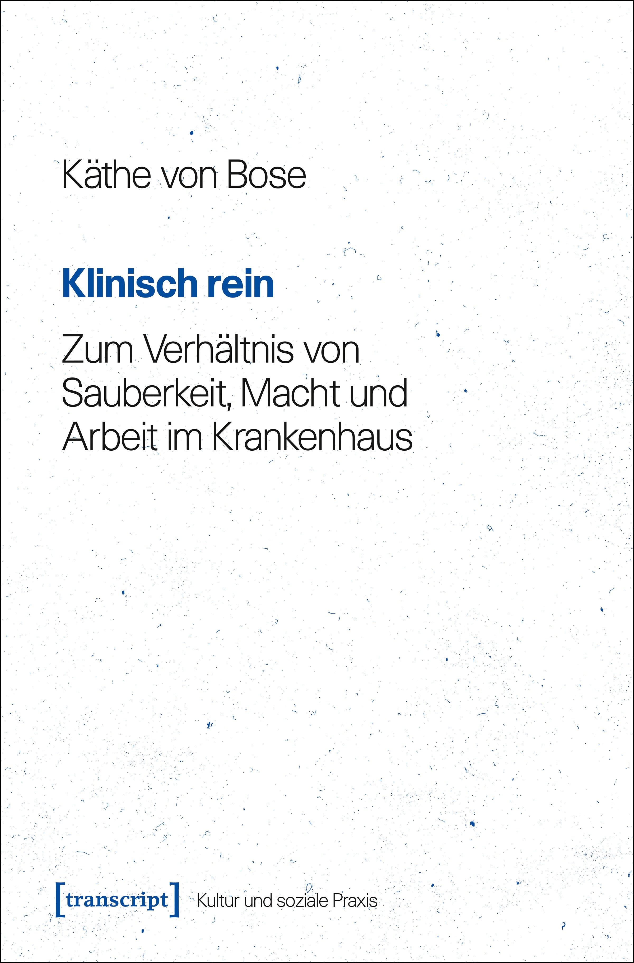 Klinisch rein | Bose, 2017 | Buch (Cover)
