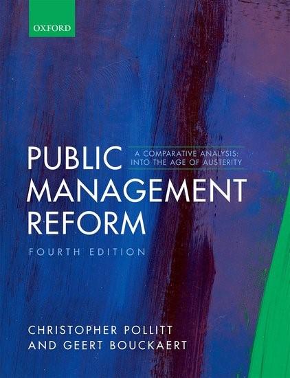 Abbildung von Pollitt / Bouckaert   Public Management Reform   2017