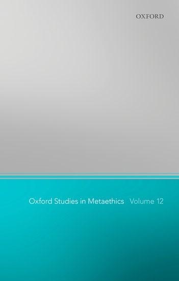 Abbildung von Shafer-Landau | Oxford Studies in Metaethics 12 | 2017