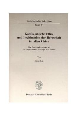 Abbildung von Lin | Konfuzianische Ethik und Legitimation der Herrschaft im alten China. | 1997 | Eine Auseinandersetzung mit de... | 64