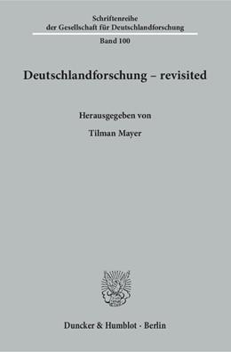 Abbildung von Mayer | Deutschlandforschung – revisited. | 2016 | 100