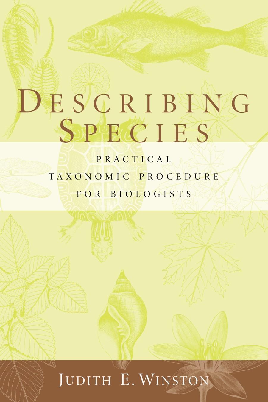 Abbildung von Winston | Describing Species | 1999
