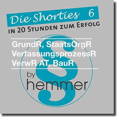 Die Shorties 6 | Bayerl | 8. Auflage, 2016 (Cover)